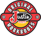 Justin Juniors Workboots Youth's Ropers - Aged Bark