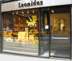 Leonidas Chocolate store on Madison Ave in New York City