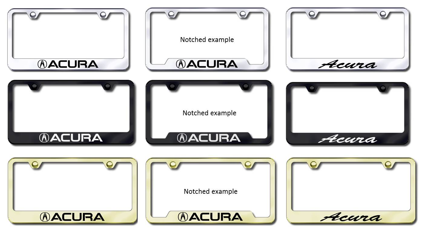 more frame photos acura license frames
