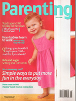 Parenting Magazine June,2004 cover
