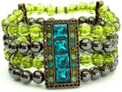 Cleopatra Fashion Bracelet, Magnetic Jewelry Bead 's - 1 bracelet
