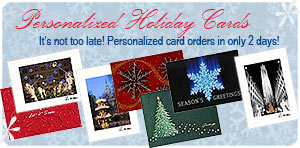 Personalized Holiday Cards & Personalized Christmas Cards