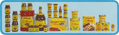 Linea de Productos Do�a Maria en 1973