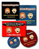 Advertising Magnets, Custom Promotional Magnets, Shaped Magnets