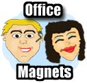 Office Mood Magnets, Fridge Magnets, a funny and unique office gift idea