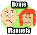 Home Mood Magnets, Funny Magnets, a fun way to share emotions
