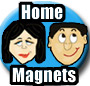 Home Mood Magnets, Funny Magnets, a unique funny gift idea