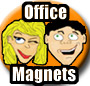 Office Mood Magnets, Funny Magnets, a unique office gift idea
