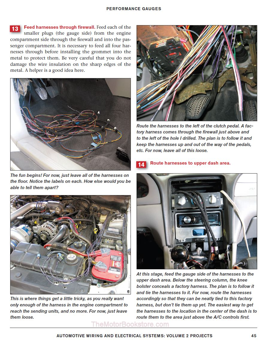 Automotive Wiring  U0026 Electrical Systems Volume 2