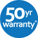 50 Year Limited warranty