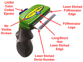 Furminator Features