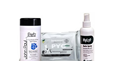 Grooming Sprays, Wipes & Foams