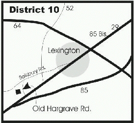 map of distribution center, D-10