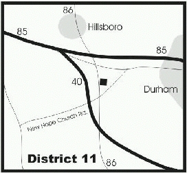 map of distribution center, D-11