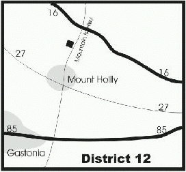 map of distribution center, D-12