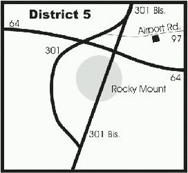map of distribution center, D-5
