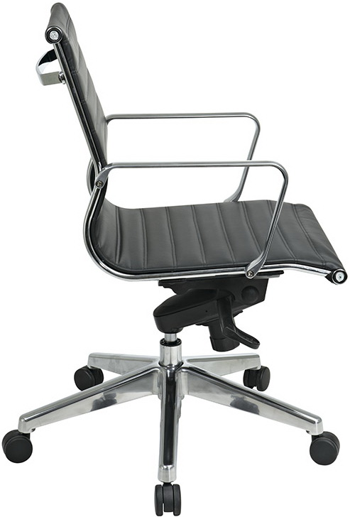 Modern Faux Leather Office Chair 74613