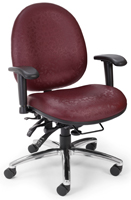 OFM 247 chair in Aspen Raspberry