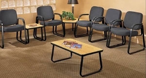 medical office waiting room furniture leather chairs medical office