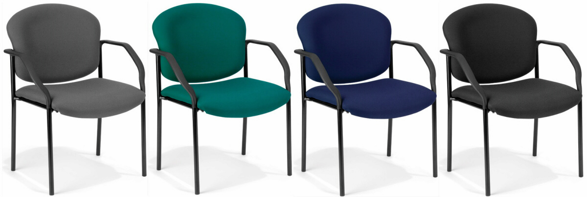 STACKABLE CUSHIONED CHAIRS