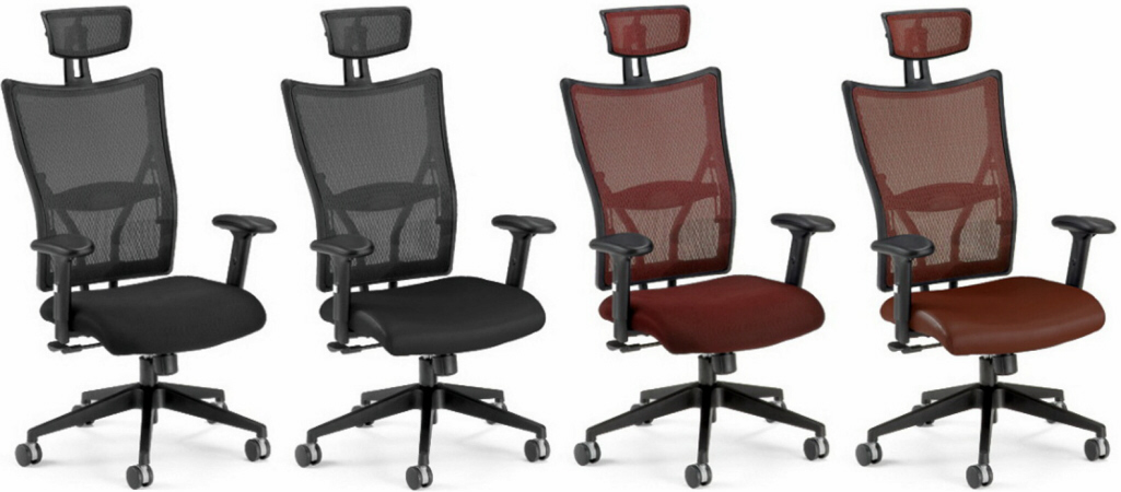 Executive Mesh Chairs Ofm Executive Mesh Chair With