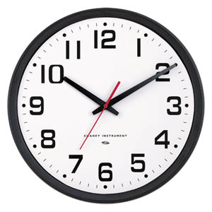 "Chaney Instrument 75025 Electra Set & Forget 14"" Wall Clock"