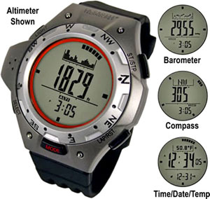 La Crosse XG-55 Altimeter Compass Watch