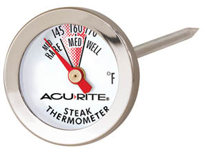 Acu-Rite 00709 Steak Thermometer