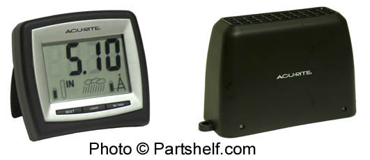 Acu-rite wireless digital rain gauge