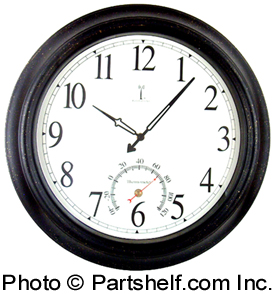 "Atomix 50308 Balmoral Atomic 18"" Analog Wall Clock"