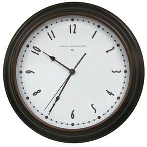 Chaney Instrument 75032 Gaston Set & Forget 16-Inch Analog Wall Clock