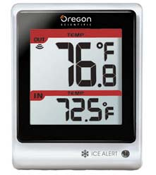 Oregon Scientific EB313HG Handheld Weather Forecaster with Alarm Clock