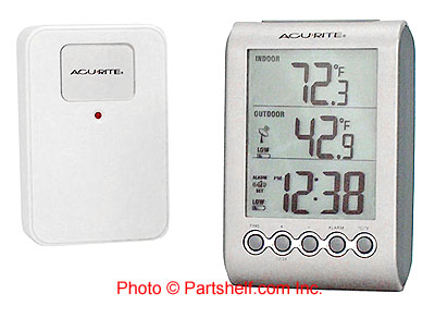 Acu-Rite 00604 Digital Wireless Indoor/Outdoor Thermometer