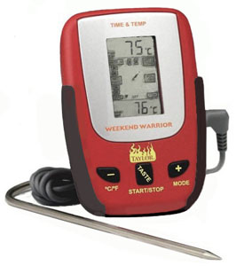 Taylor 808 Weekend Warrior Remote Probe Digital Meat Thermometer and Timer