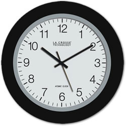 La Crosse Technology WT-3102B 10-Inch Atomic Wall Clock