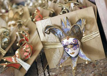 masquerade wedding favors image