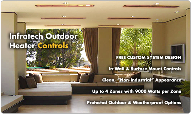 Infratech Outdoor Heater Controls
