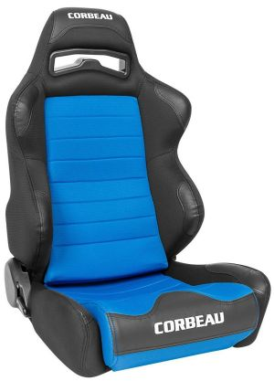 Corbeau LG1 Racing Seat Black/Blue Cloth 25505