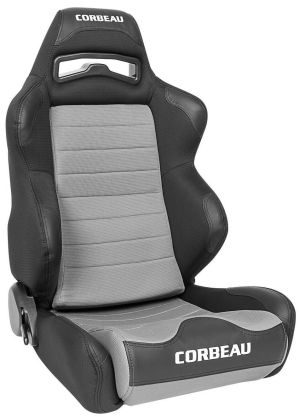 Corbeau LG1 Racing Seat Black/Grey Cloth 25509