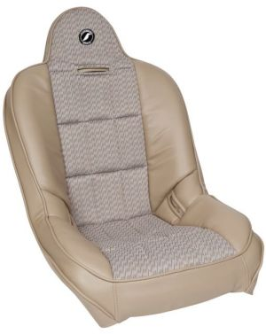 Corbeau Baja SS Racing Seat Tan Vinyl w/Grey Cloth Center 65466 (*)