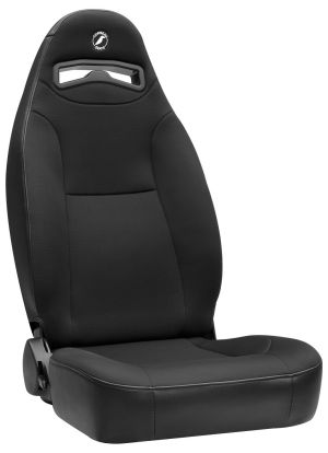 Corbeau Moab Racing Seat Black Vinyl/Cloth 70011 (+$30)