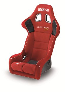 Sparco Corsa Racing Seat Red Cloth 887FRS