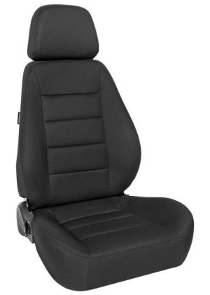 Corbeau Sport Racing Seat Black Cloth 90001
