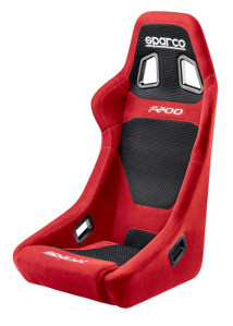Sparco F200 Racing Seat Red Cloth 00917RS **917RS