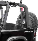 Corbeau Safari Rear Jeep Seat
