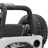 Corbeau Jeep TJ Rear Seat Covers