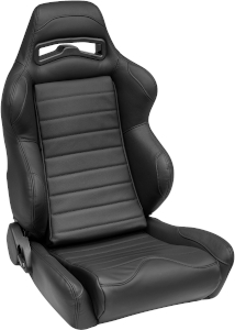 Corbeau LG1 Racing Seat Black Leather L25501 (+$226) **L25501