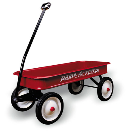 Little Red Wagon Hits Paydirt