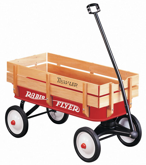 Radio Flyer Trav-ler Red Wagon