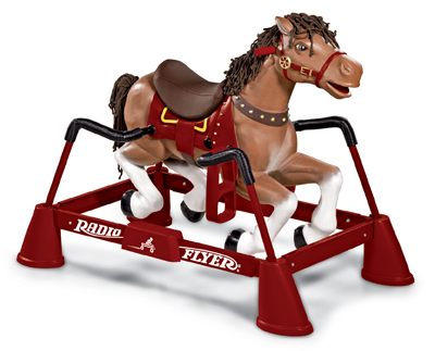 Radio Flyer Liberty Adjustable Height Spring Rocking Horse